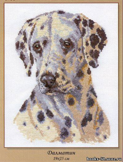 Для вышивки крестом собачка схема для