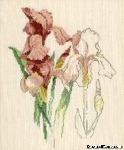наборы вышивки крестом цветы