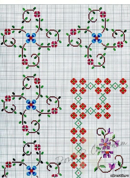 Схема для вышивки крестом.