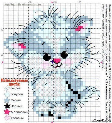 Схема-рисунок для вышивания